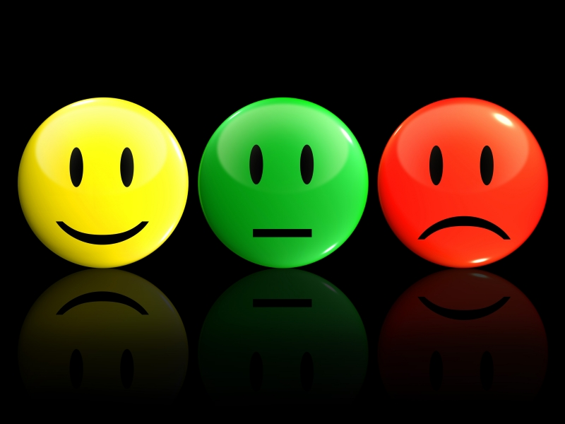 Sentiment Analysis - 3 Colored Emojis - Featured Image