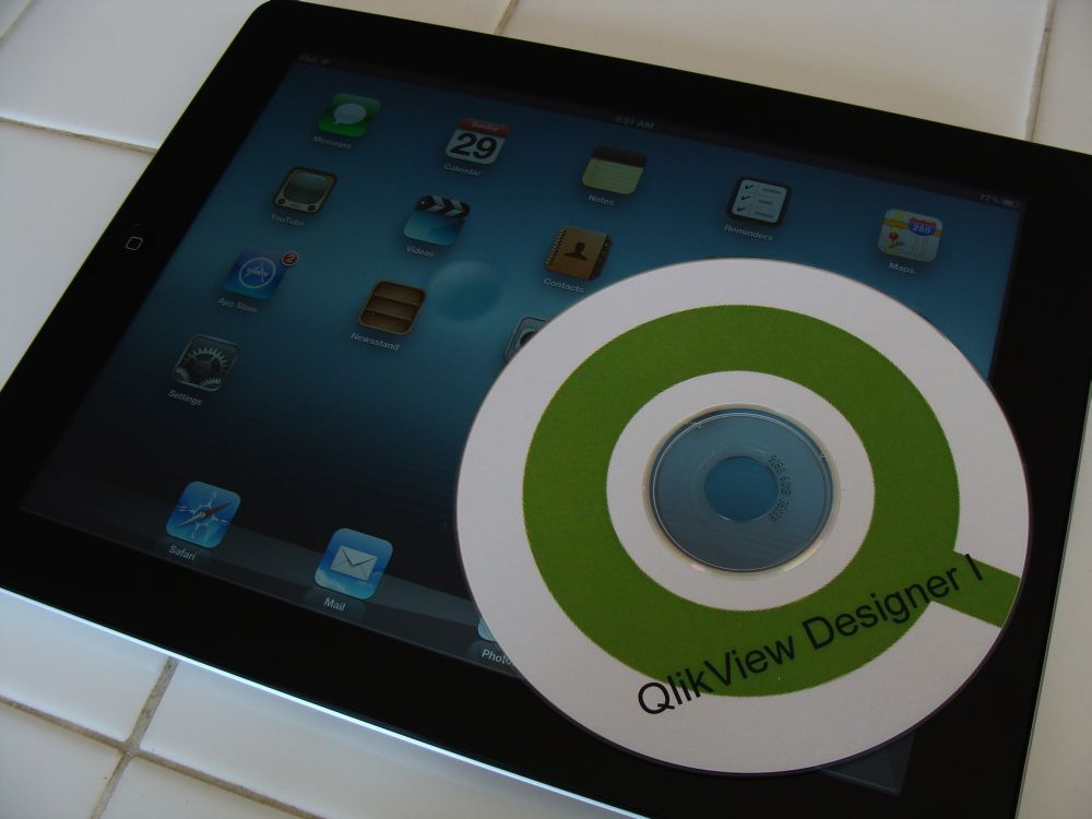 QlikView iPad - Featured Image