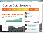 Couron Data Solutions – Screenshot – Featured Image Thumbnail