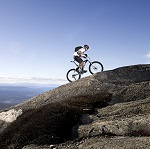 QlikView Adventure Works – Featured Image Thumbnail – Biking Uphill