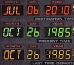 QlikView Date Selection – The Time Machine Panel from BTTF – Featured Image Thumbnail