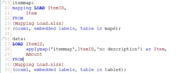 Mapping Load Scripting 6
